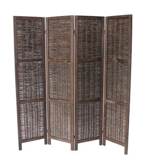 4 Panel Room Divider, Brown, 7046DB for Sale in Downey, CA