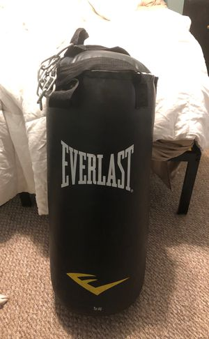 Punching bag + gloves for Sale in Albany, NY