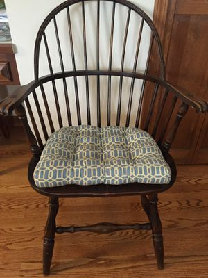Wood Windsor accent chair for Sale in Kildeer, IL