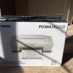 Canon PIXMA MG2520 Compact All In One Printer (Print-copy-scan) for Sale in AZ, US