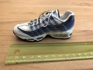 RARE COLLECTIBLE! NIKE Air Max 95 Bowen Classics Commemorative Statue Figurine Vintage Blue Ceramic for Sale in Hillsboro, OR