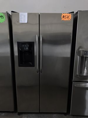 Stainless Steel Ge Refrigerator + Free Warranty! for Sale in Garland, TX
