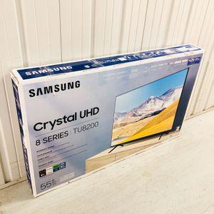 "Samsung - 55"" Class 8 Series LED 4K UHD Smart Tizen TV Samsung UN55TU8200 Brand New In Box 2020 Model for Sale in Atlanta, GA"