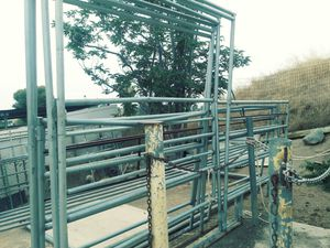 Horse corral gate 12ft long $99 each/cada una for Sale in Riverside, CA