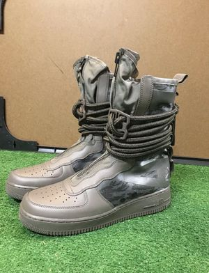 NIKE SF SPECIAL FORCES AIR FORCE 1 AF1 CAMO BOOTS HIGH SEQUOIA MENS 10 11 unisex for Sale in San Francisco, CA