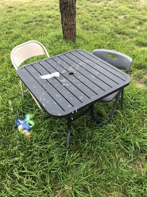Metal Table for Sale in Abilene, TX