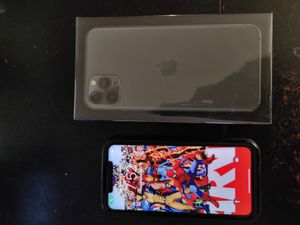 Iphone 11 pro max 256gb like new with zagg vision guard glass screen protector and lifeproof case. LOCAL ONLY for Sale in Denver, CO