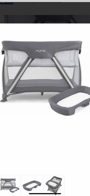 Nuna pack and play sand sleeper and changer for Sale in Tacoma, WA