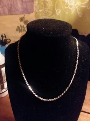 Very thick sterling silver chain for Sale in Northumberland, PA