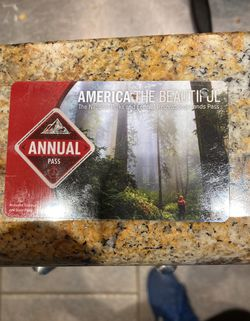 America The Beautiful Annual Pass National Parks for Sale in Sunnyvale,  CA