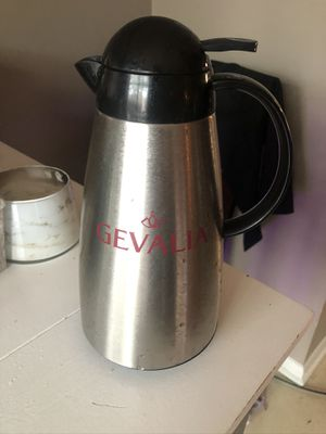 Gevalia stainless steel carafe for Sale in Columbus, OH