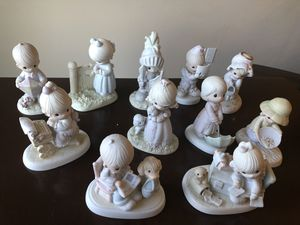Precious moments figurines $7 each for Sale in Canby, OR