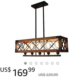 Kitchen island pendant light Chandelier. for Sale in Whittier, CA