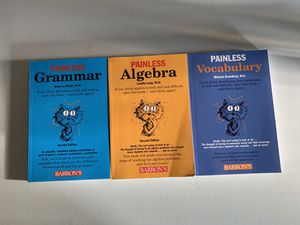 PAINLESS....Series Middle/High School Study AIDS for Sale in Lyndhurst, VA