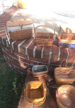 Longaberger baskets for Sale in Martinsburg,  WV