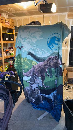Jurassic Park Comforter Blanket - Full for Sale in Orting, WA