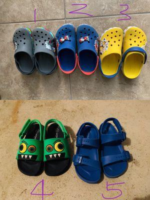 Cat and jack Crocs kids toddler sandals size 12 for Sale in Melbourne Village, FL