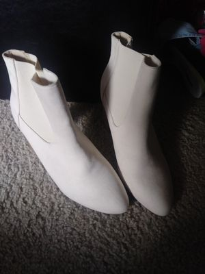 White heel boots for Sale in Federal Way, WA