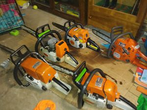 Stihl and Husqvarna chainsaws for Sale in Jersey Shore, PA