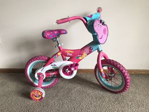 Girl Toddler Bike Peppa Pig for Sale in Columbus, OH