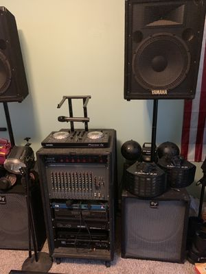Dj equipment for Sale in Fresno, CA