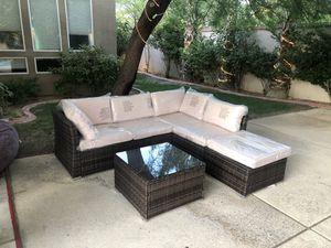 4 piece Rattan sofa!! for Sale in Las Vegas, NV