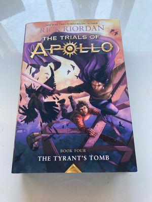 The Trials of Apollo Book #4 The Tyrant's Tomb for Sale in Visalia, CA
