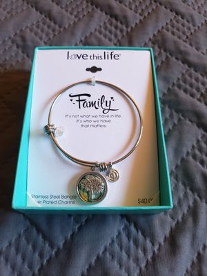 Mother of Pearl Family Tree Bracelet for Sale in Huntington Beach, CA