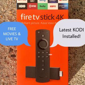 Amazon Firestick 4K w/ KODI Installed - New for Sale in NY, US