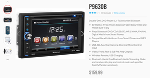 """Double-DIN, DVD Player 6.2"""" Touchscreen Bluetooth, new in box for Sale in Lexington, KY"""