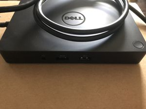 BRAND NEW DELL WD15 DOCKING STATION for Sale in Hopedale, MA