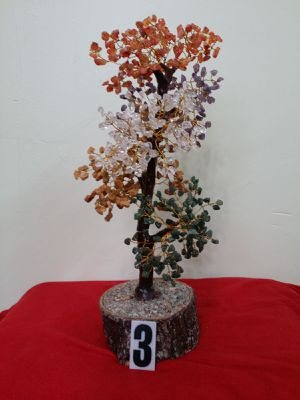AGATE STONE TREE, 5 MIX COLOR BIDS for Sale in Jersey City, NJ