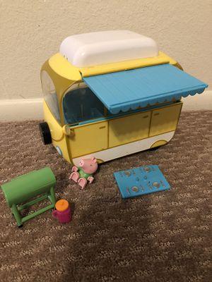 Peppa Pig Camper Van and Accessories for Sale in Scottsdale, AZ