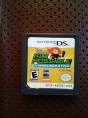 Kim possible kimmunicator Nintendo DS game for Sale in Hilliard, OH
