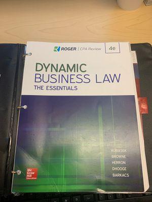 Dynamic Business Law by Kubasek for Sale in Vallejo, CA