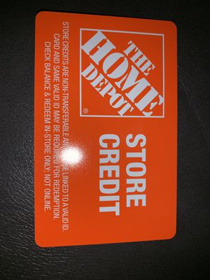 Home Depot store credit $459 for Sale in Manchester, CT