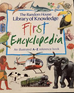 Large Used Hardcover Book : The Random House Library Of Knowledge First Encyclopedia by Brian & Brenda Williams for Sale in Largo,  FL