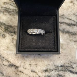 14 K White Gold diamond Band New for Sale in San Diego, CA