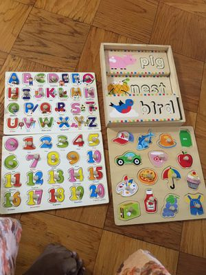 Kids puzzles,books,games,toys for Sale in Jersey City, NJ