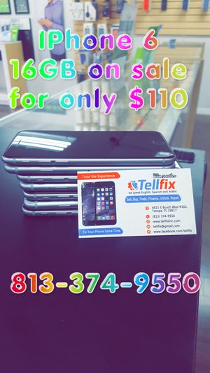 IPhone 6 Plus 16GB unlock for any carrier for Sale in Tampa, FL