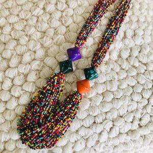 Multi Color Beaded Necklace for Sale in Washington, DC