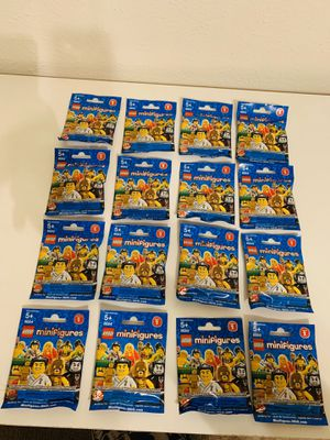 Lego Collectible Minifigures Series 2 Complete Set #8684 Sealed New Rate for Sale in Richardson, TX