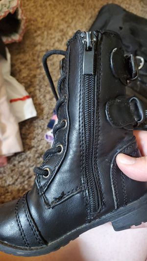 Baby girls combat boots for Sale in Lakewood, WA