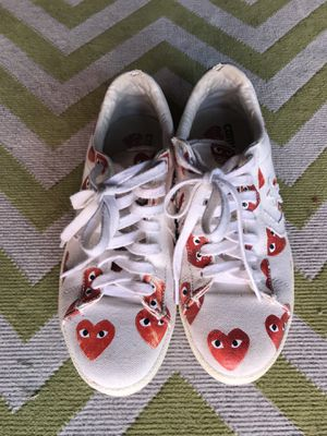 Comme des Garcons PLAY Converse Heart for Sale in Los Angeles, CA