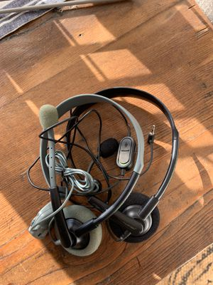 2 XBOX gaming headsets for Sale in Wenatchee, WA
