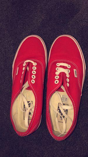 brand new red vans in size 7 for Sale in El Cajon, CA
