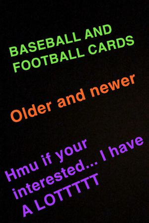 Baseball and Football Cards for Sale in Sumner, WA