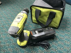 Drill , Tools-Power Ryobi 1 Battery & Charger.. Negotiable for Sale in Baltimore, MD