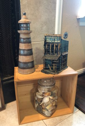 Crate man cave she shed decor / the hotel is a bank! for Sale in Katy, TX
