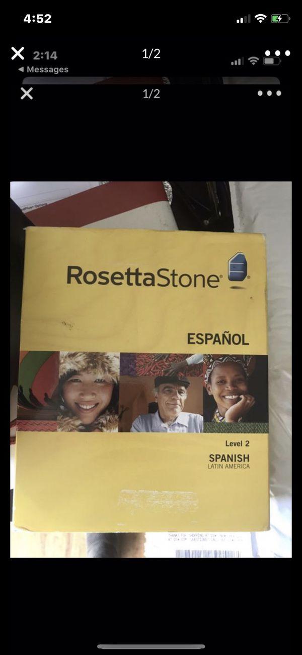 Rosetta Stone Spanish. Paid $300 never used
